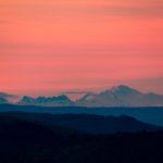 Mont Blanc, depuis le Hohneck